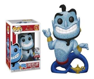 Funko Pop Disney Aladin Genio Con Lampara Diamond 476