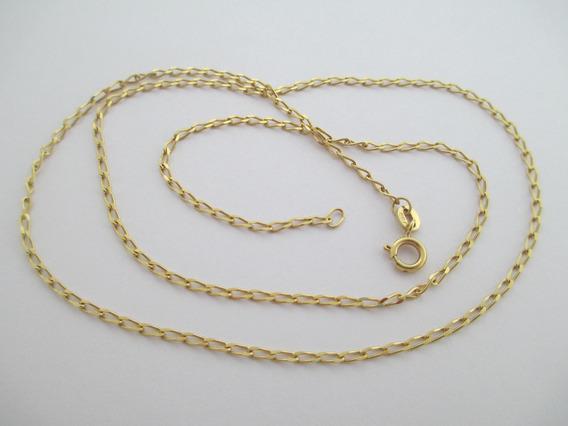 Lindíssima Corrente Em Ouro 18 K - 4.09 Gr - 50.5 Cm