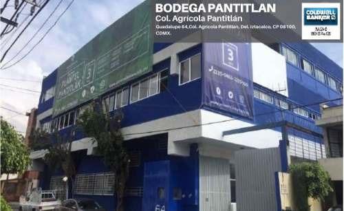 Bodega Nave Industrial En Renta, Iztacalco, Ciudad De México