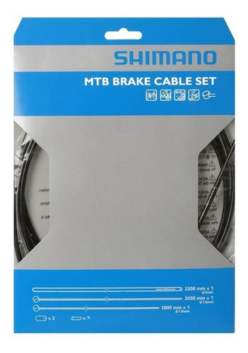 Kit Cables Y Fundas Shimano Para Frenos De Bicicleta Mtb