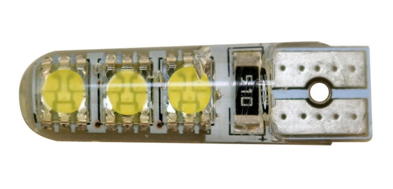 Lampara Led Posición T10 6 Smd Canbus Siliconados Super Potencia Tablero Patente No Tira Error Led 5050 600 Lumenes Nh