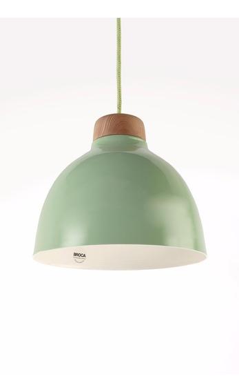 Lámpara Colgante Verde Diseño Escandinavo