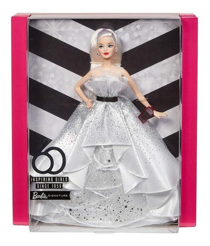 Barbie De Gala Exclusiva 60 Aniversario Original Mattel -20%
