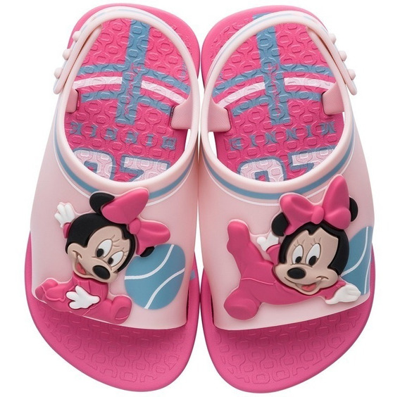 Chinelo Infantil Feminino Love Disney Colonelli 26111