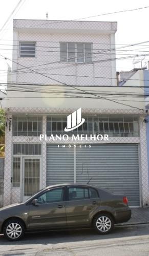 Imagem 1 de 13 de Sobrado Com 5 Dormitórios E Com Salão Comercial Na Penha!!so1396 - So1396