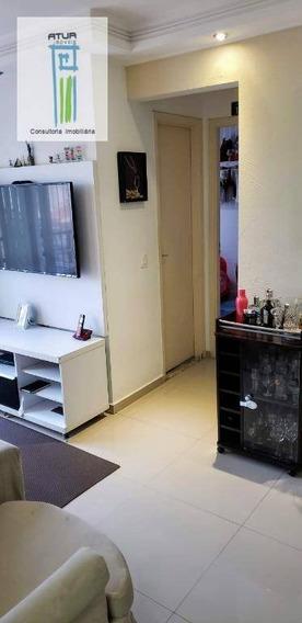 Apartamento Com 2 Dormitórios À Venda, 48 M² Por R$ 250.000,00 - Vila Gustavo - São Paulo/sp - Ap1162