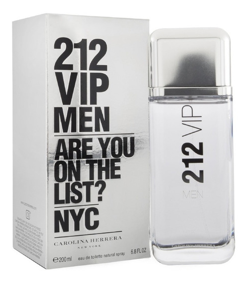 212 Vip De Carolina Herrera Eau De Toilette 200 Ml