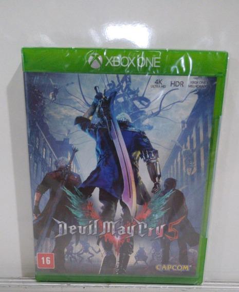 Devil May Cry 5 Xbox One Novo Lacrado