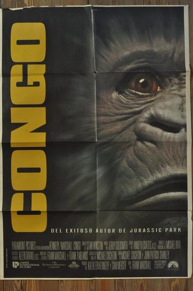 Congo Frank Marshall 1995 Afiche Cine Terror 101 X 72