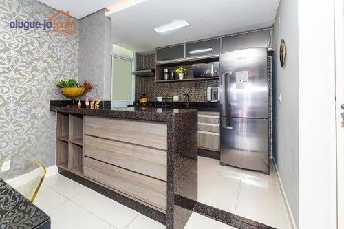 Apartamento Á Venda  Com 3 Dormitórios À Venda, 99 M² Por R$ 690.000 - Vila Sanches - São José Dos Campos/sp - Ap9833