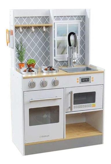 Cocina Madera Kidkraft Con Ventana Blanca -53395