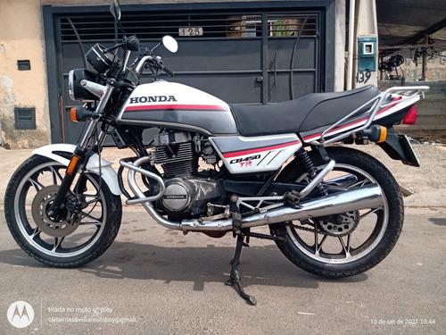 Imagem 1 de 6 de Honda Cb 450 Tr