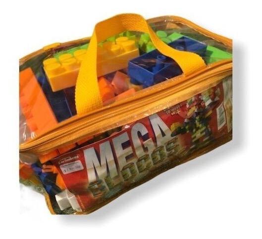 Brinquedo Educativo Crianças Jogo Monta Mega Blocos À Vista