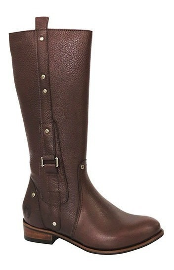 Bota Country Infantil Montaria Lady Silver Floater Chocolate