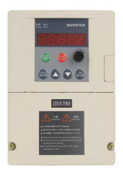 Variador Frecuencia 1hp 110v Salida 220v Motor Trifásico