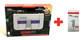 Console New Nintendo 3ds Xl Edição Super Nes + Carregador