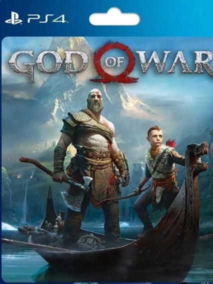 God Of War Midia Digital Código 12 Dígitos Jogue Em Sua Cont