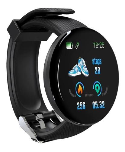Relógio Inteligente Smartwatch D18 Bluetooth Multifuncional