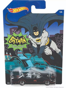 Carro Hot Wheels Batmovel Classic Tv Series Batman 1966