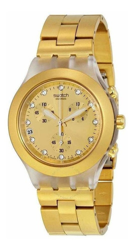Reloj Swatch Mujer Svck4032g Full Blooded
