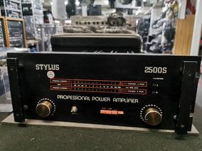 Amplificador Stylus 2500s 320watts 4ohms Raridade!