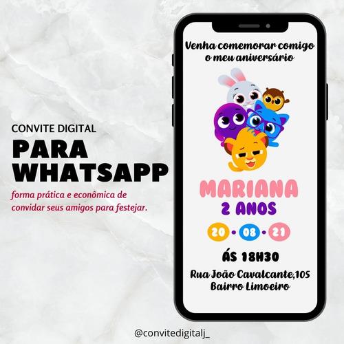 Convite Virtual/digital Econômico