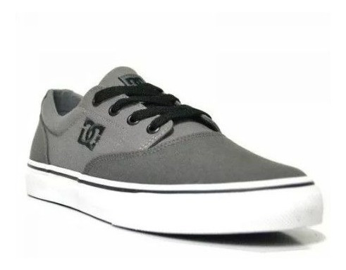 Tênis Dc Shoes New Flash Evo 2 Tx Masculino - Cinza