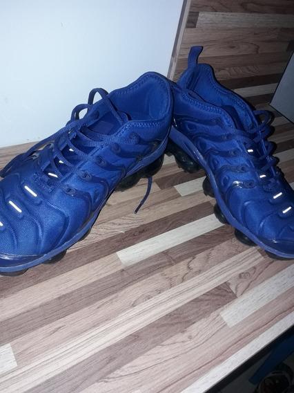 Tênis Da Nike Vapor Max Plus Azul Número 39