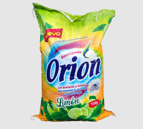 Imagen 1 de 1 de Orion Detergente Granel Limon X15 Kg En Avenida Aviacion