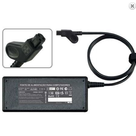 Carregador Notebook Dell 20v 4.5a Plug. 3 Pinos 557