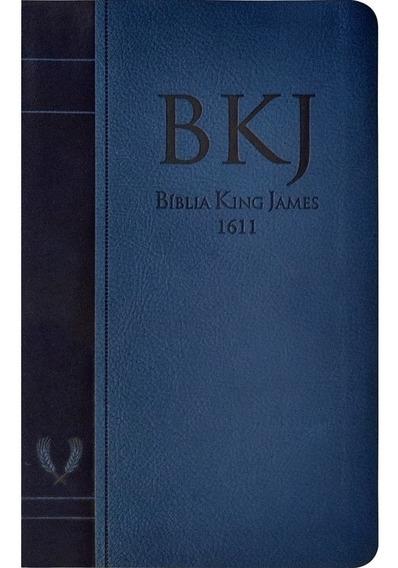 Bíblia Sagrada King James Fiel 1611 Fina Slim Unissex