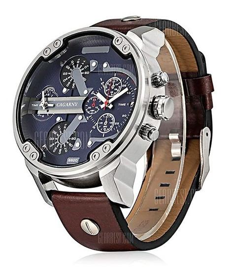 Relógio Masculino Cagarny 6820 Pulseira