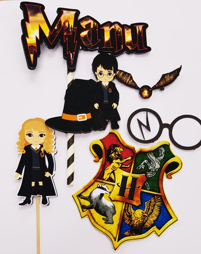 Topo De Bolo Topper Bolo Harry Potter