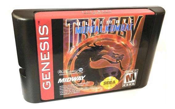Ultimate Mortal Kombat Trilogy Novo Mega Drive Genesis