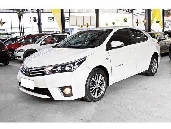 Toyota Corolla Branco 2.0 Altis 16v Flex 4p Automático 2015