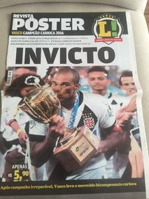 Revista Lance - Poster - Vasco Campeão Carioca 2015