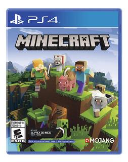 Juego Ps4 Minecraft Playstation 4 En Físico Sony
