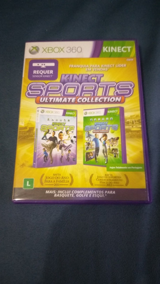 Jogo Kinect Sports Ultimate Collection