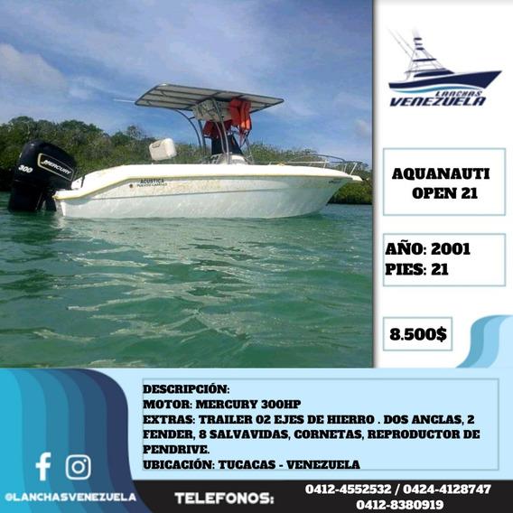 Lancha Aquanauti 21 Lv470