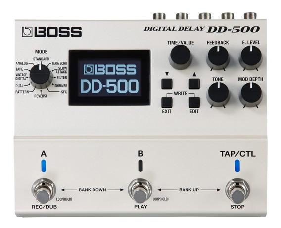 Pedal Guitarra Boss Digital Delay Dd-500 Dd500 Nota Fiscal