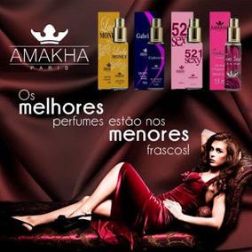 Combo ( 10 Mini Perfumes De Bolso 15 Ml ) Amakha Paris