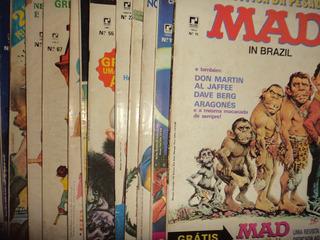 Lote Revista Mad Editora Record 31 Edicoes 1985 Otimas