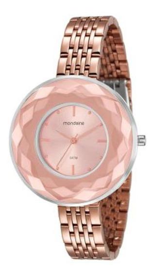 Relógio Mondaine Feminino Dourado Rosê 99054lpmvge8