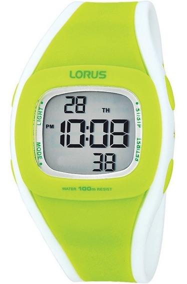 Reloj Lorus R2347gx9 Para Dama Correa De Caucho