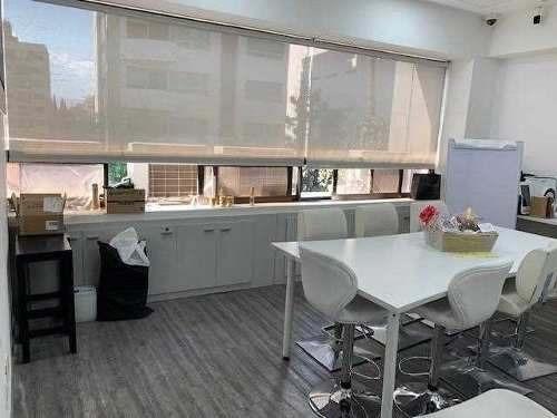 Oficina Renta Polanco, 200m2, Vigilancia, Amplias Áreas
