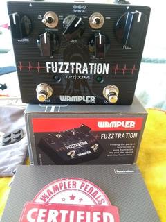 Wampler Fuzztration Fuzz Face Big Muff Octavio Octavia Octa