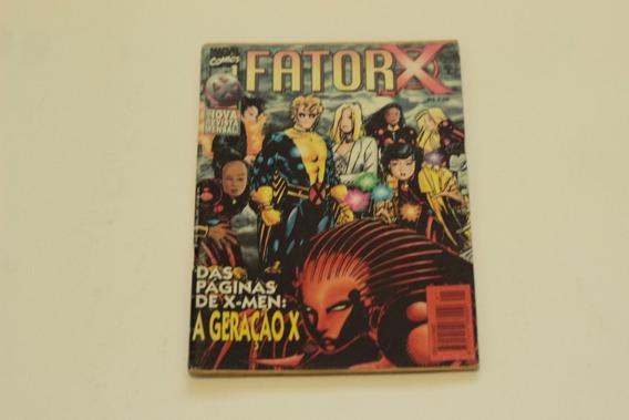 Hq Fator-x N°1 Primeiro Numero Editora Abril Gibi 1997