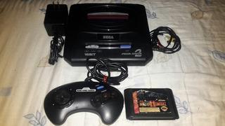 Sega Mega Drive 2, Control, Adaptador, Cable A/v Y 1 Juego.