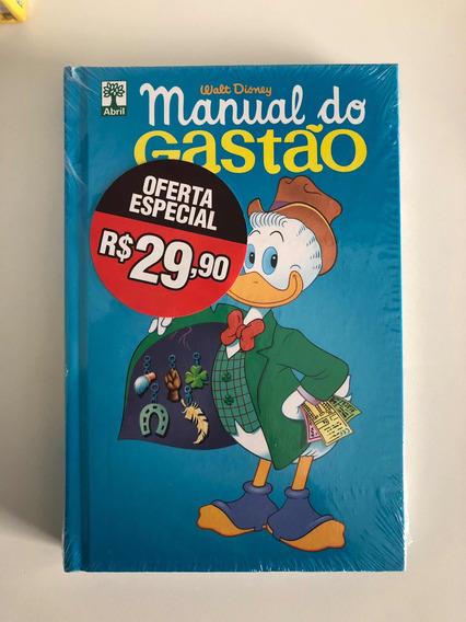 Hq Manual Do Gastão Lacrado Disney - Envio R$ 12
