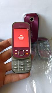 Nokia 7230c Slip Nacional Novo Cor Rosa Operadora Claro